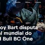 B-Boy Bart disputa final mundial do Red Bull BC One